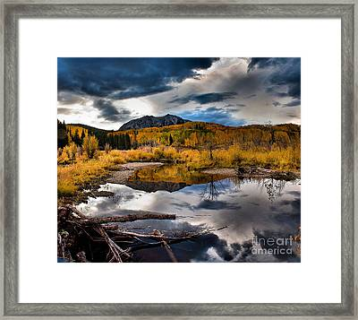 Framed Print featuring the photograph Jack's Pond by Steven Reed