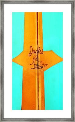 Jacks Framed Print