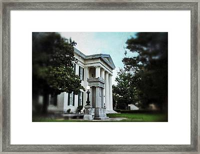 Jackson City Hall Framed Print