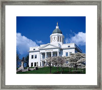 Jackson County Courthouse 2006 Framed Print by Matthew Turlington