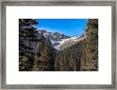 Jackson Glacier Framed Print by Robert Bales