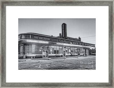 Jackson Greyhound Bus Station II Framed Print by Clarence Holmes