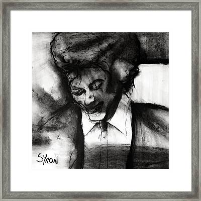 Jackson Framed Print by Helen Syron