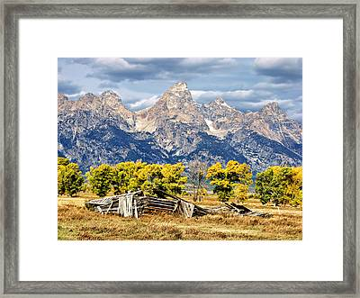 Jackson Hole Framed Print