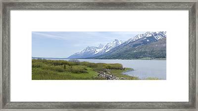 Jackson Lake Framed Print