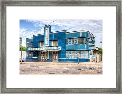 Jackson Mississippi Greyhound Bus Station I Framed Print by Clarence Holmes
