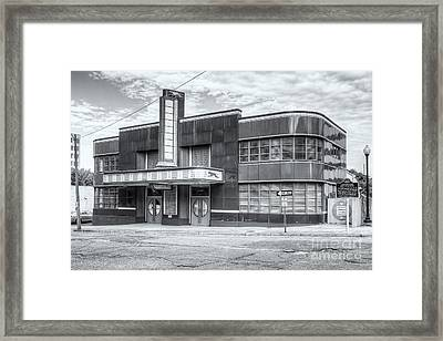 Jackson Mississippi Greyhound Bus Station II Framed Print by Clarence Holmes