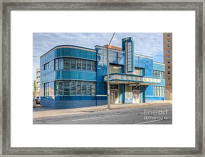 Jackson Mississippi Greyhound Bus Station IIi Framed Print