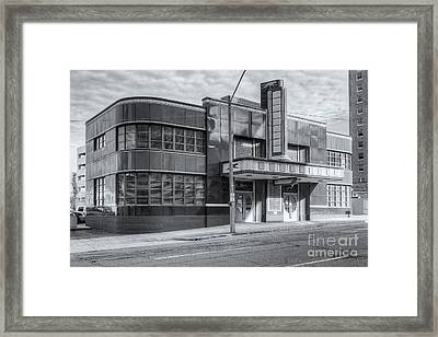 Jackson Mississippi Greyhound Bus Station Iv Framed Print by Clarence Holmes