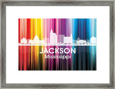 Jackson Ms 2 Framed Print by Angelina Vick