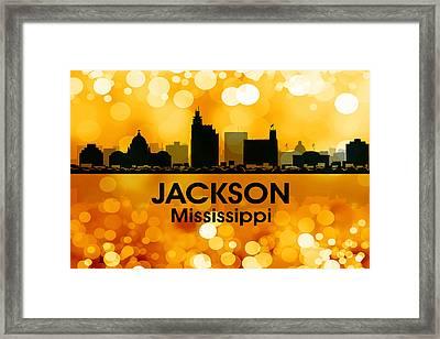 Jackson Ms 3 Framed Print by Angelina Vick