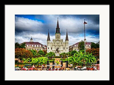 New Orleans Framed Prints