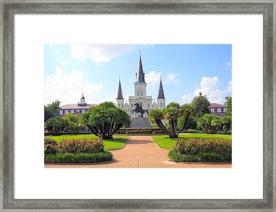 Jackson Square Framed Print by Ryan Burton