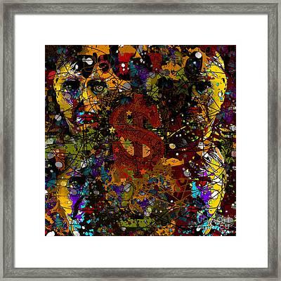 Jackson Warhol Me Framed Print