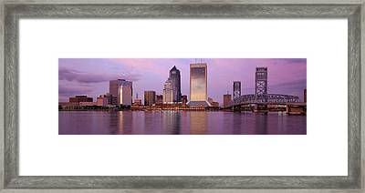 Jacksonville Fl Framed Print by Panoramic Images