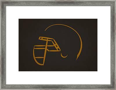 Jacksonville Jaguars Helmet Framed Print