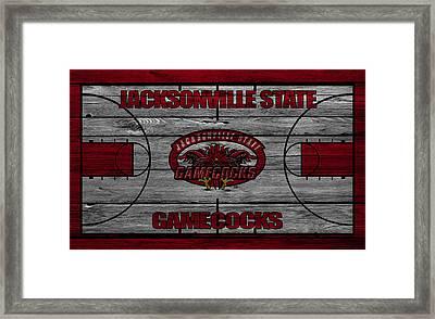 Jacksonville State Gamecocks Framed Print by Joe Hamilton