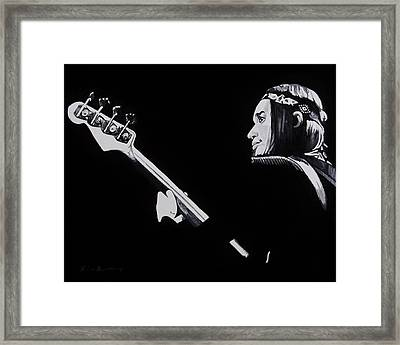 Jaco Framed Print by Brian Broadway