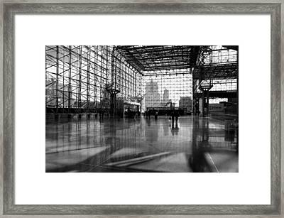 Jacob K. Javits Center Framed Print by Diana Angstadt
