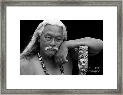Jacob Mau Framed Print by Sharon Mau