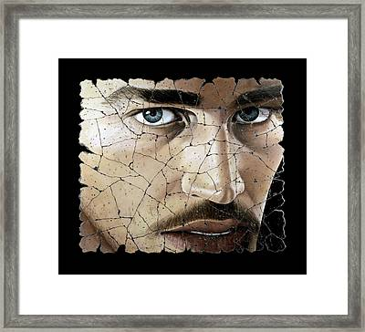 Jacob Framed Print by Steve Bogdanoff