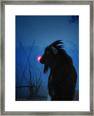 Jacob The Red Nosed Billy Framed Print