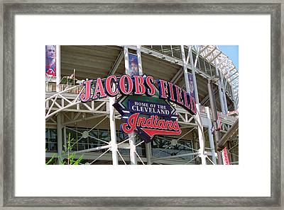 Jacobs Field - Cleveland Indians Framed Print