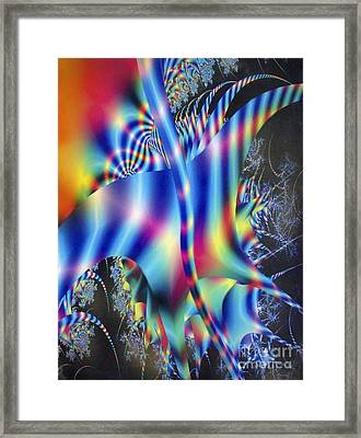 Jacob's Ladder Framed Print by Dov Lederberg