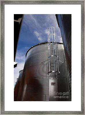Jacob's Ladder Framed Print by Juan Romagosa