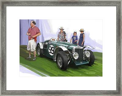 Jacobsen Mg N Magnette Special Framed Print by RG McMahon