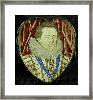 Jacobus I, 1566-1625, King Of England, Attributed Framed Print