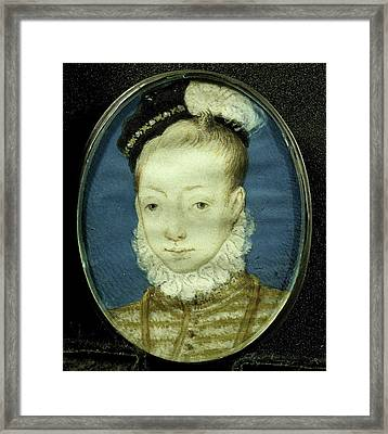 Jacobus Stuart, 1556-1625, Later King James I Of England Framed Print by Litz Collection