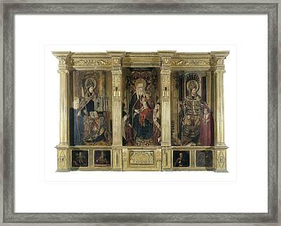Jacomart, Jaume Ba��, Called 1410-1461 Framed Print