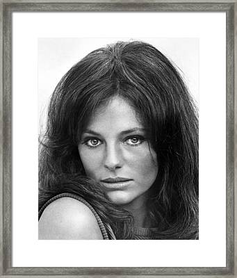 Jacqueline Bisset In The Sweet Ride  Framed Print by Silver Screen