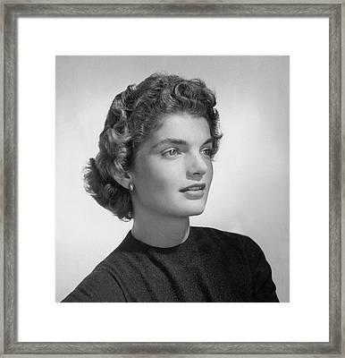 Jacqueline Kennedy Onassis Framed Print