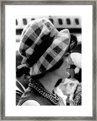 Jacqueline Kennedy Framed Print by Underwood Archives