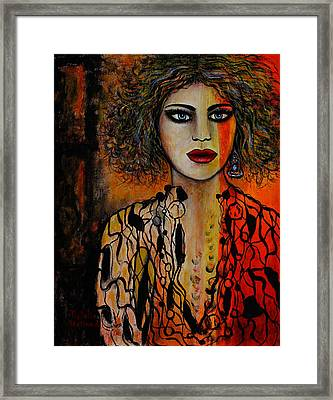 Jacquelyn Framed Print by Natalie Holland