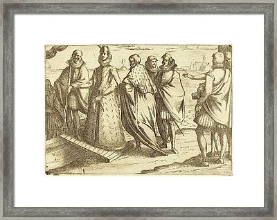 Jacques Callot French, 1592 - 1635, Embarkation At Genoa Framed Print by Quint Lox