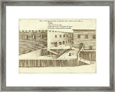 Jacques Callot French, 1592 - 1635, House Of Pilate Framed Print by Quint Lox