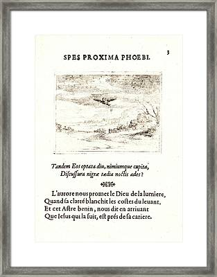 Jacques Callot French, 1592 - 1635. Le Lever De Laurore Framed Print by Litz Collection