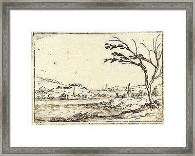 Jacques Callot, French 1592-1635, The Nile Flooding Framed Print