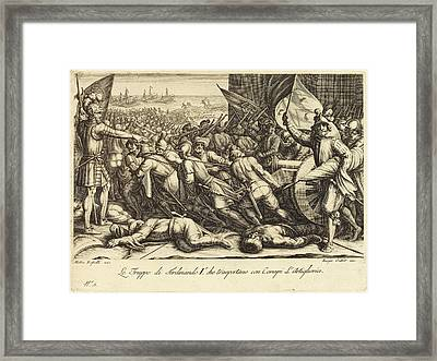 Jacques Callot French, 1592 - 1635, The Re-embarkation Framed Print by Quint Lox