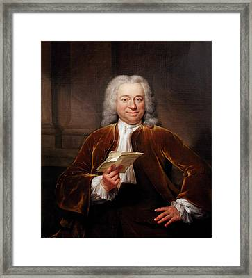 Jacques Philippe D'orville Framed Print by Bodleian Museum/oxford University Images