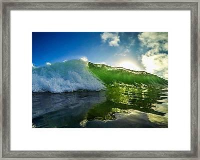 Jade Beauty Framed Print