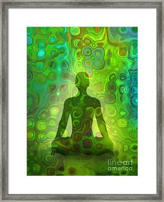 Jade Framed Print by Lutz Baar