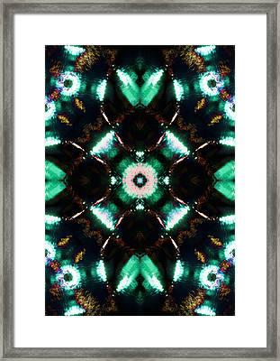 Jade Reflections - 2 Framed Print by Shawna Rowe
