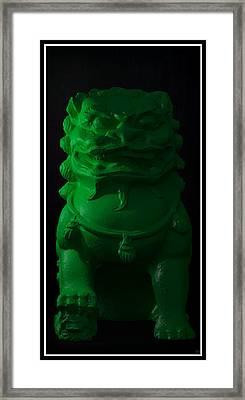 Framed Print featuring the digital art Jade... by Tim Fillingim