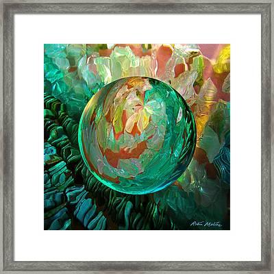 Jaded Jewels Framed Print