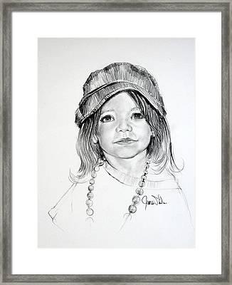 Jaelyn Framed Print
