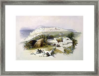 Jaffa 1839 Framed Print by Munir Alawi